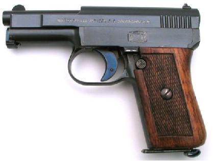 История этого пистолета