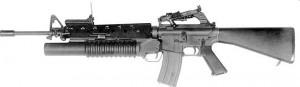 Штурмовая винтовка М16