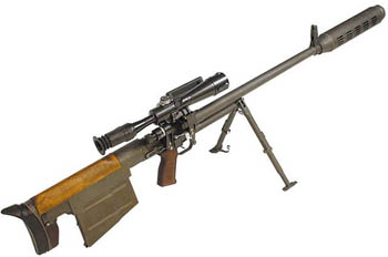 Снайперская винтовка Дегтярева