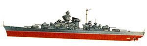 Немецкий линкор корабль тирпиц