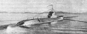 Подводная лодка типа «К» возвращается из похода