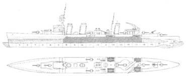 Крейсер «Эмеральд»