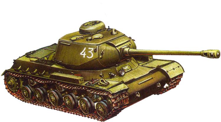 Танк ИС-1