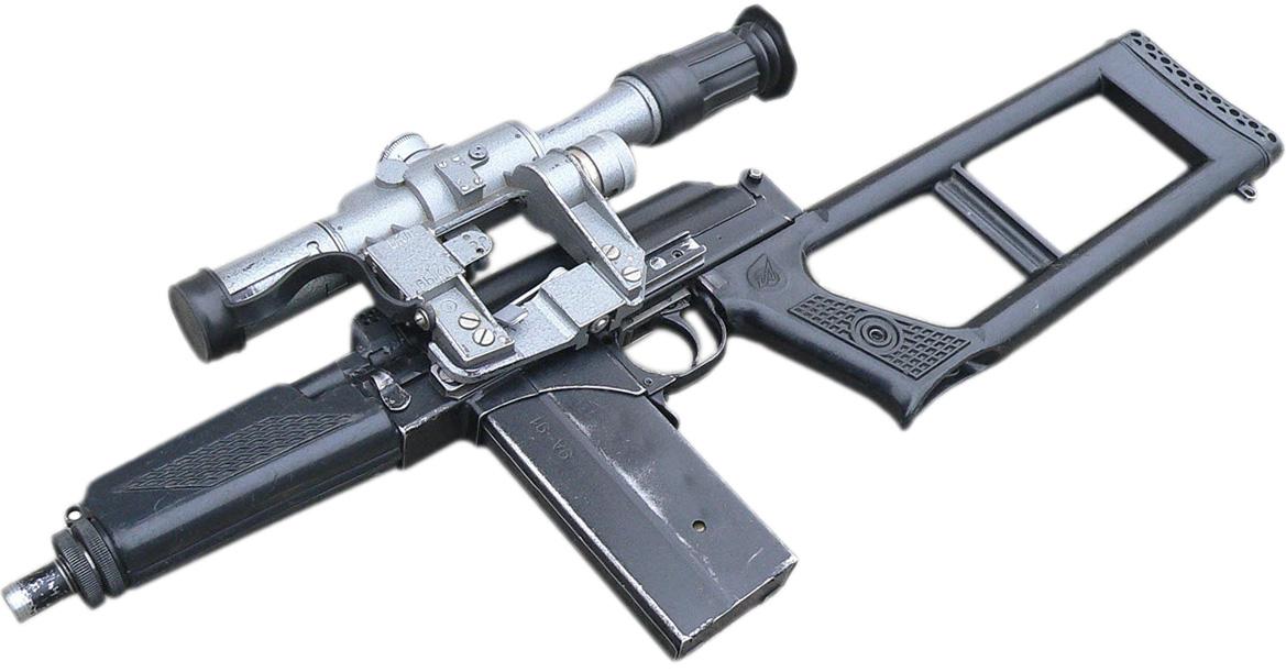 ВСК-94 без глушителя