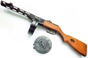 Пистолет-пулемет Шпагина (ППШ)