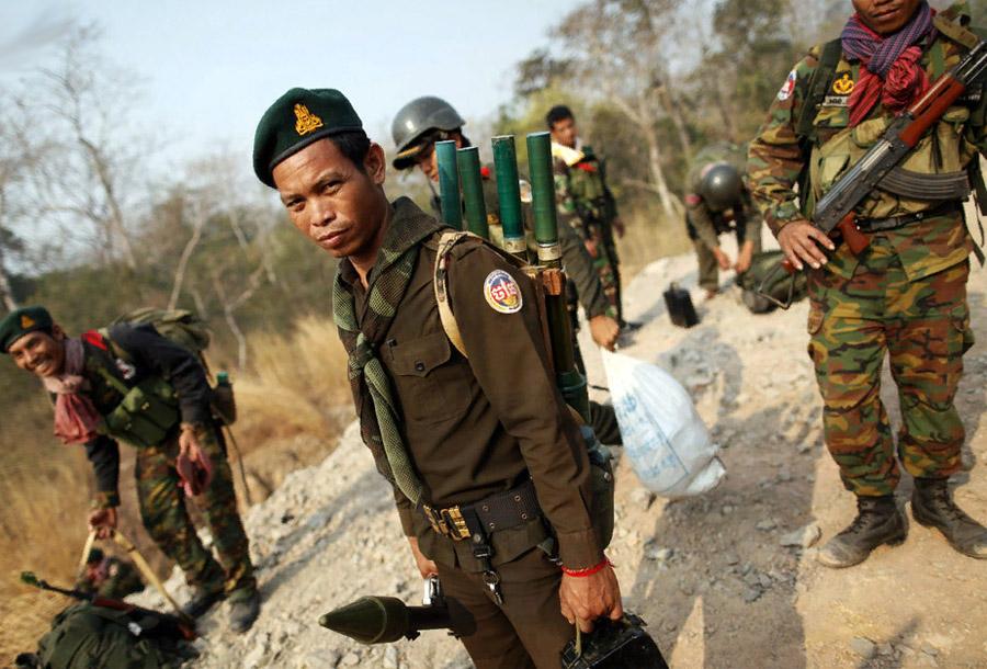 Гранатомет РПГ-2. Применение в Камбодже