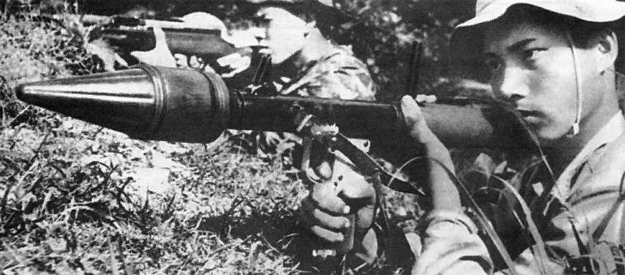 Гранатомет РПГ-2. Применение во Вьетнаме