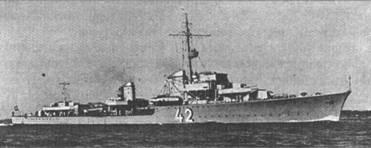Германский эсминец «Карл Гальстер»