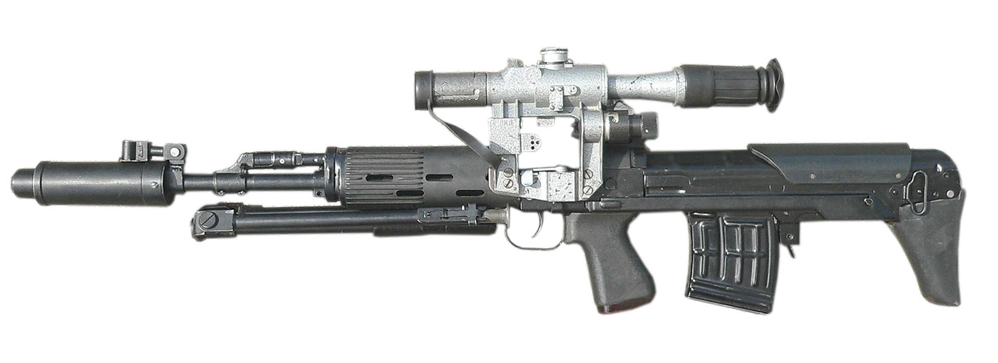Снайперская винтовка СВУ