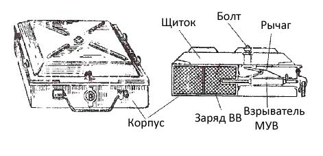 Конструкция мины ТМ-35
