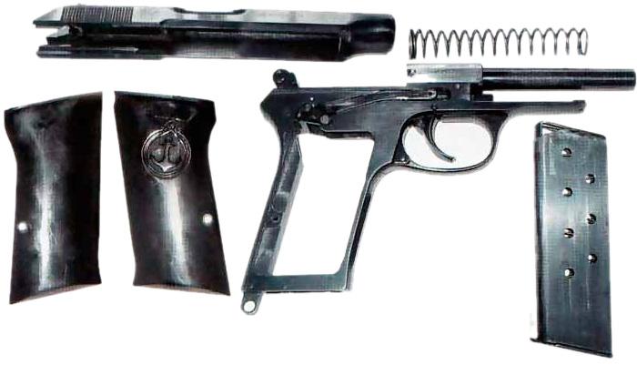 Пистолет Балтиец конструкция