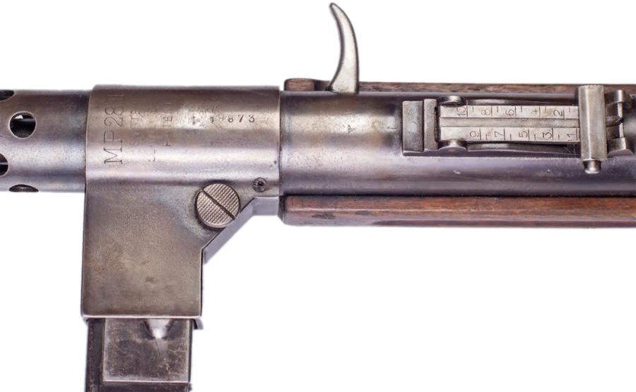 Пистолет-пулемет MP28 II