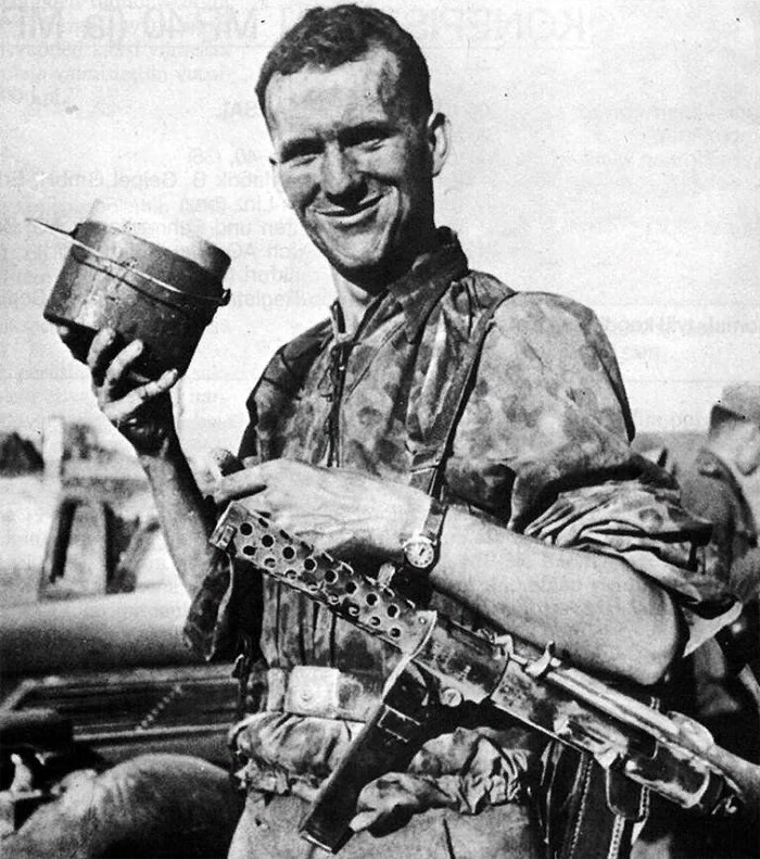 Солдат с MP28 II