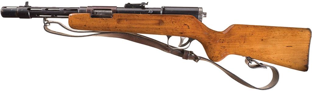 Пистолет-пулемет MP-35