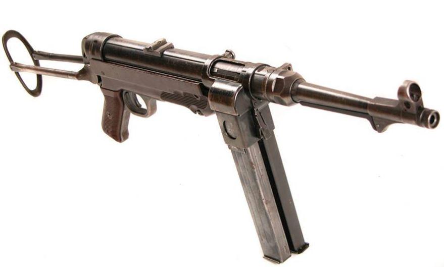 Пистолет-пулемет MP 40/1 с двумя магазинами