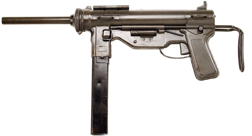 Пистолет-пулемет M3