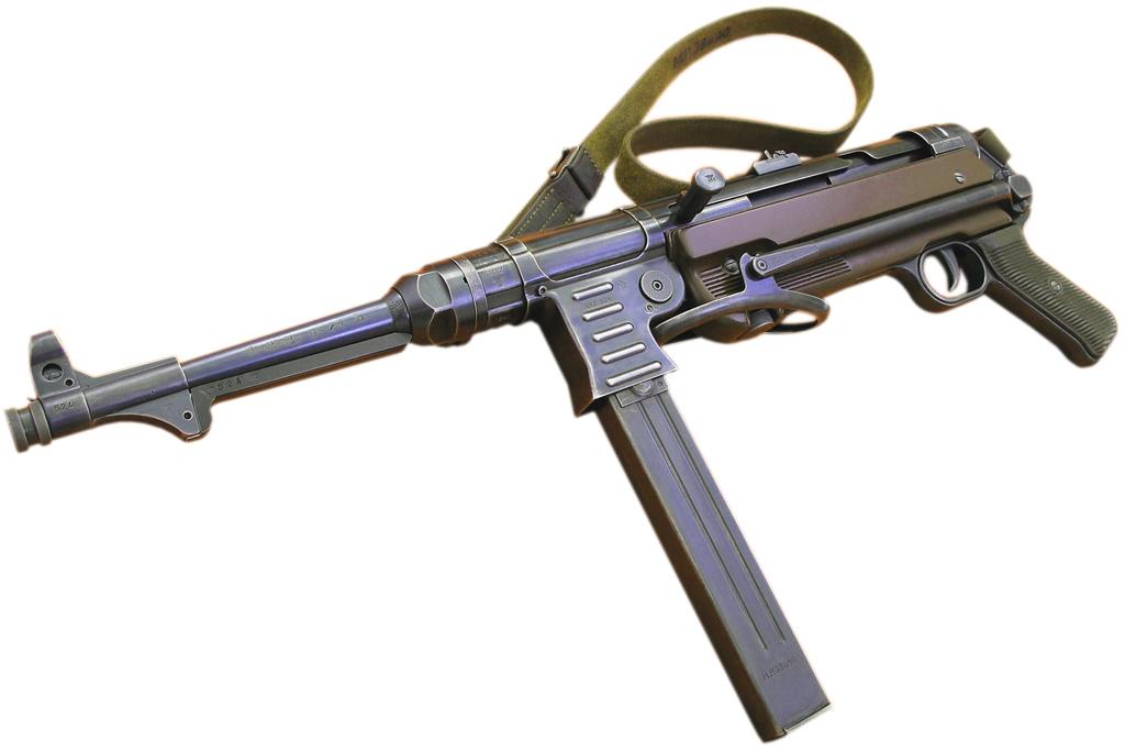 Пистолет-пулемет MP38/40