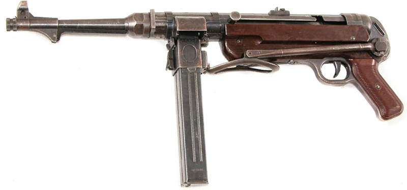 Пистолет-пулемет MP 40/1