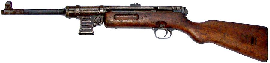 Пистолет-пулемет MP-41 без магазина