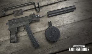 Пистолет-пулемет Scorpion в игре PUBG