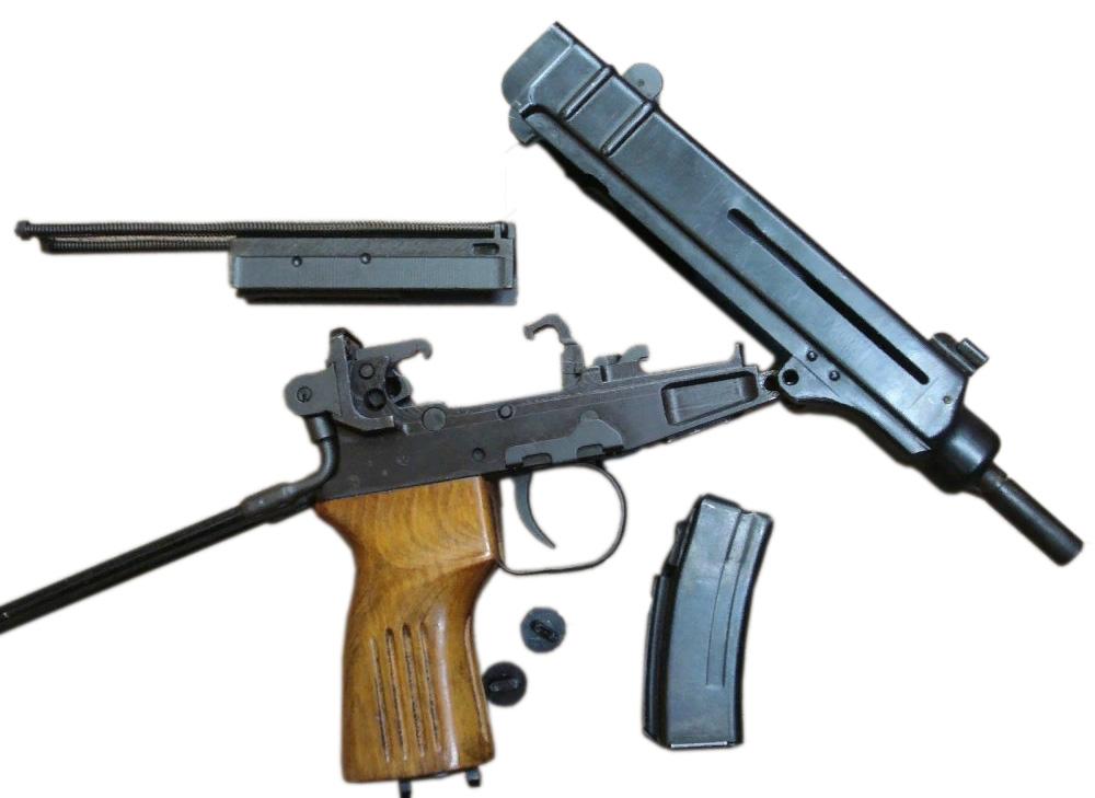 "Пистолет-пулемет ""Скорпион"" Šcorpion vz. 61. Конструкция"