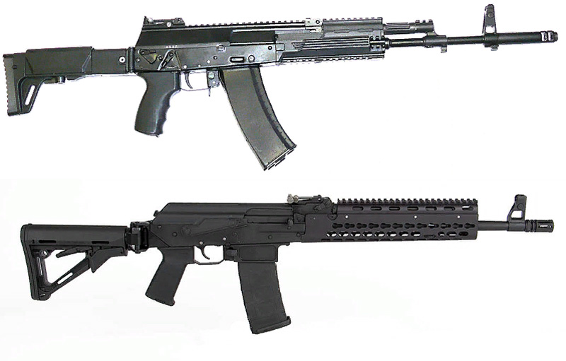 Автомат АК-12 и АК-15