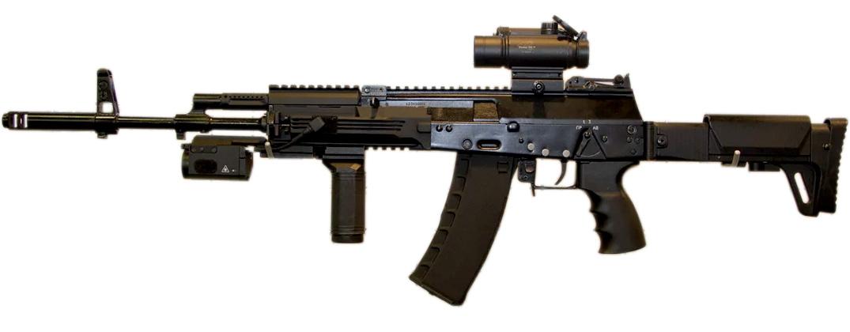 Автомат АК-12. Первый вариант от 2012 года