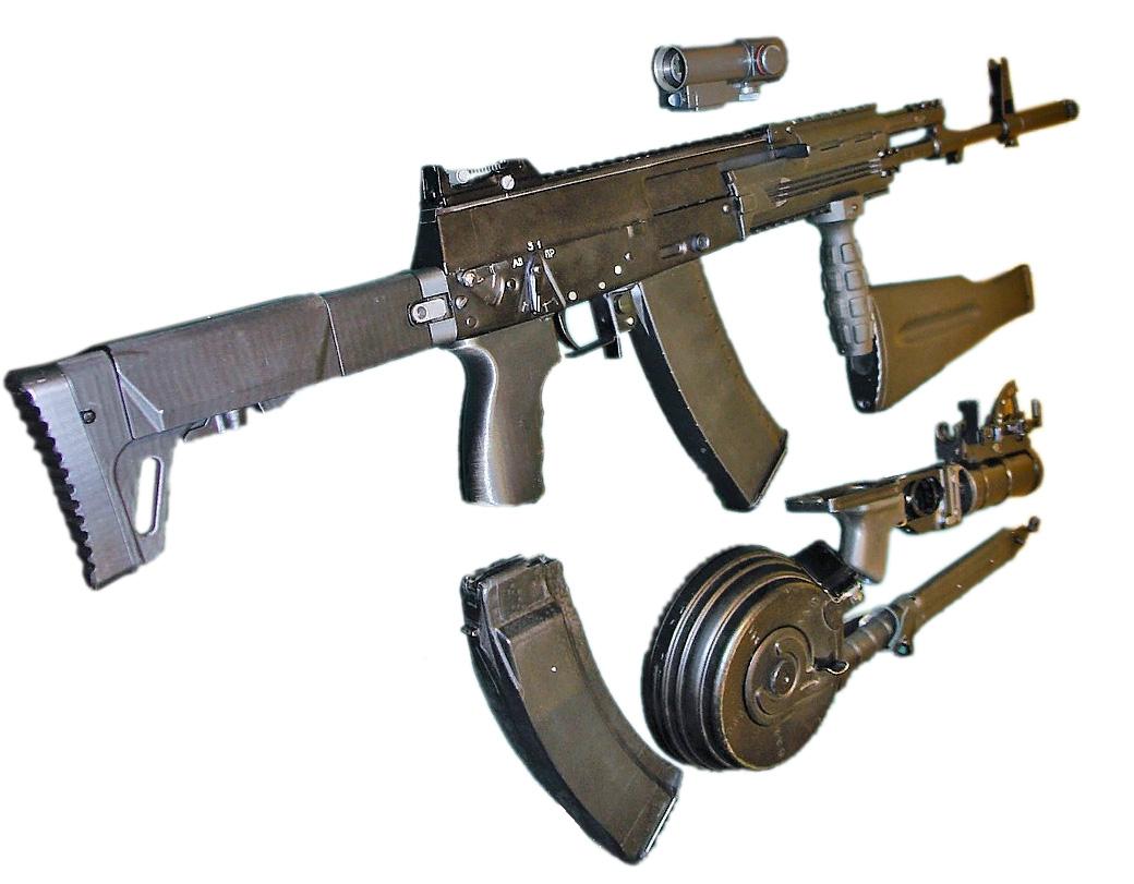 Автомат АК-12. Возможная комплектация