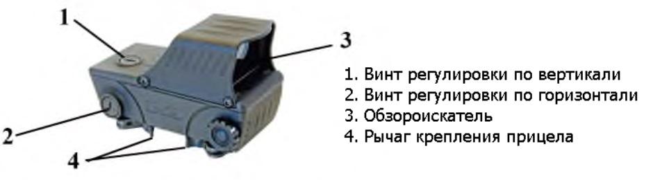 Автомат Форт-221. Конструкция коллиматорного прицела