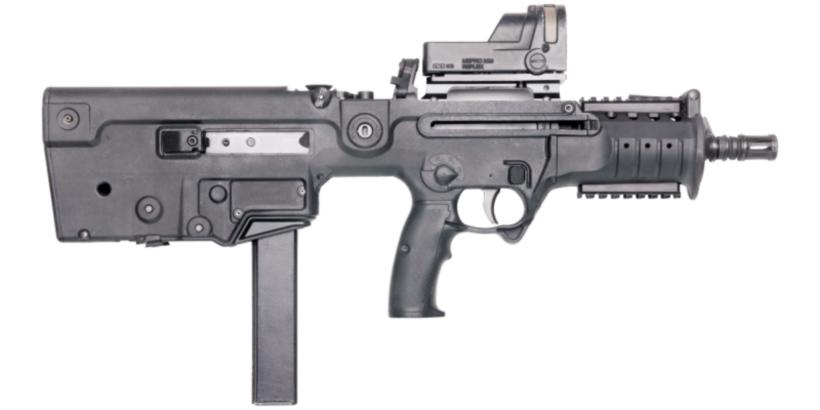 Пистолет-пулемет Форт-224 вид справа