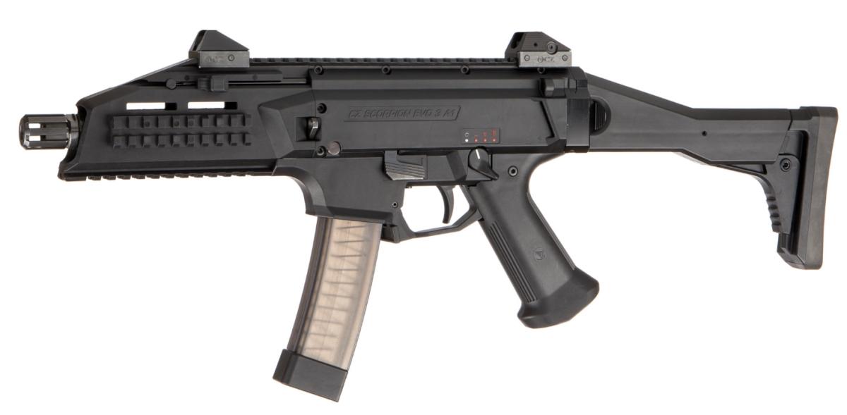 Пистолет-пулемет CZ Scorpion EVO 3 A1 вид слева