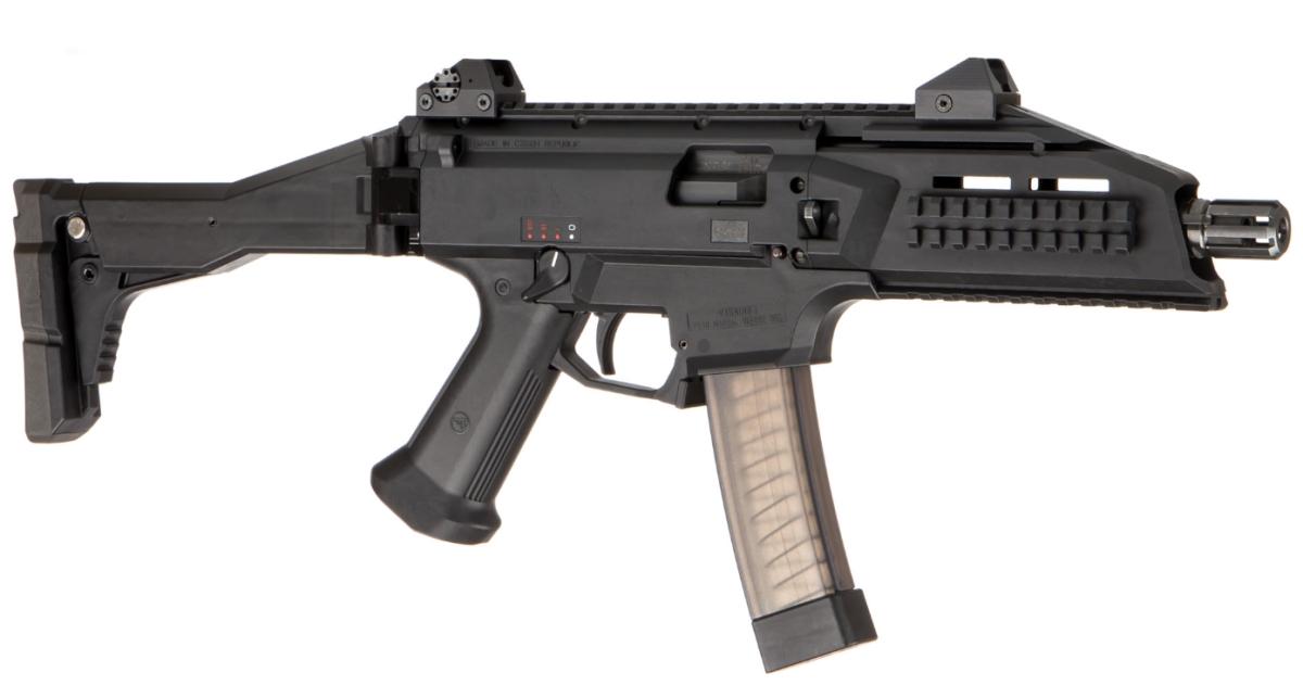 Пистолет-пулемет CZ Scorpion EVO 3 A1 вид справа