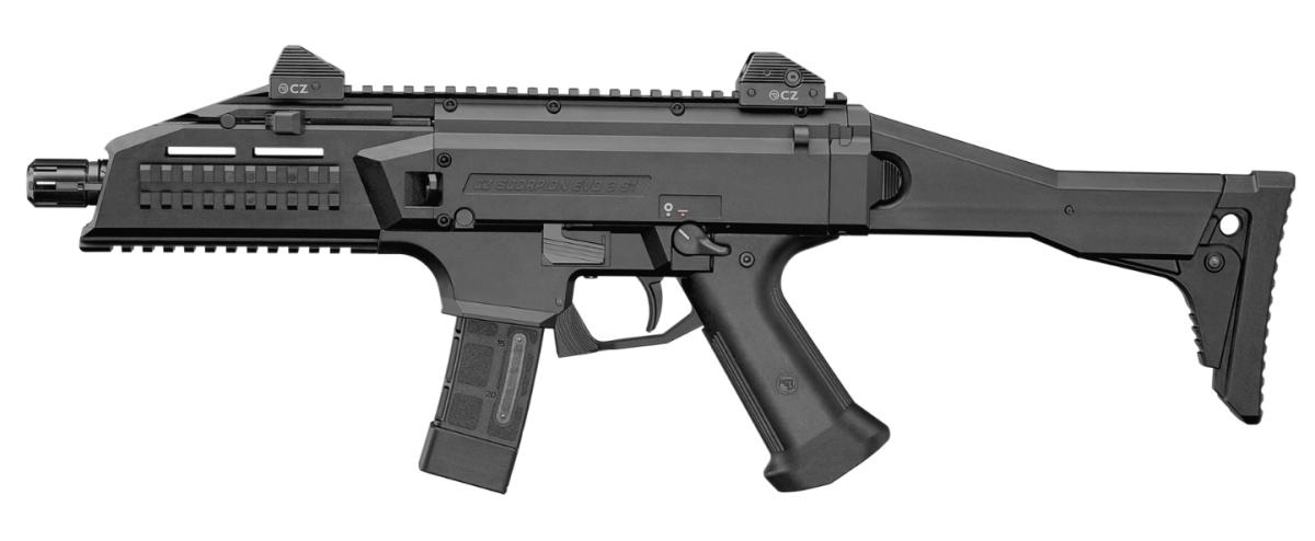 Пистолет-пулемет CZ Scorpion EVO 3 S1 вид слева