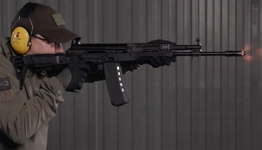 Стрельба из АК-19
