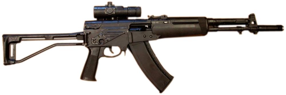 Автомат АЕК-971 до 2006 года, ранний выпуск