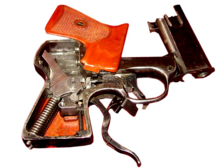 Конструкция пистолета СМ4
