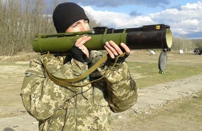 Стрельба из РПГ-22