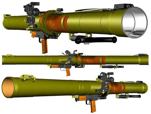 """Конструкция РПГ-29 """"Вампир"""""""