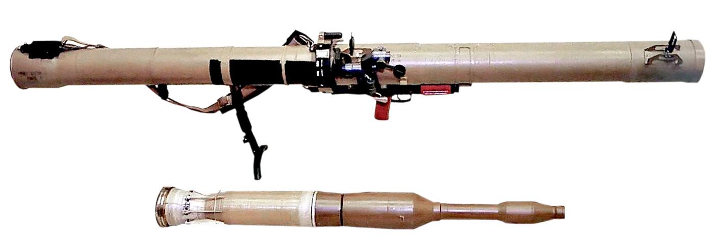"""Гранатомет РПГ-29 """"Вампир"""" и граната к нему"""