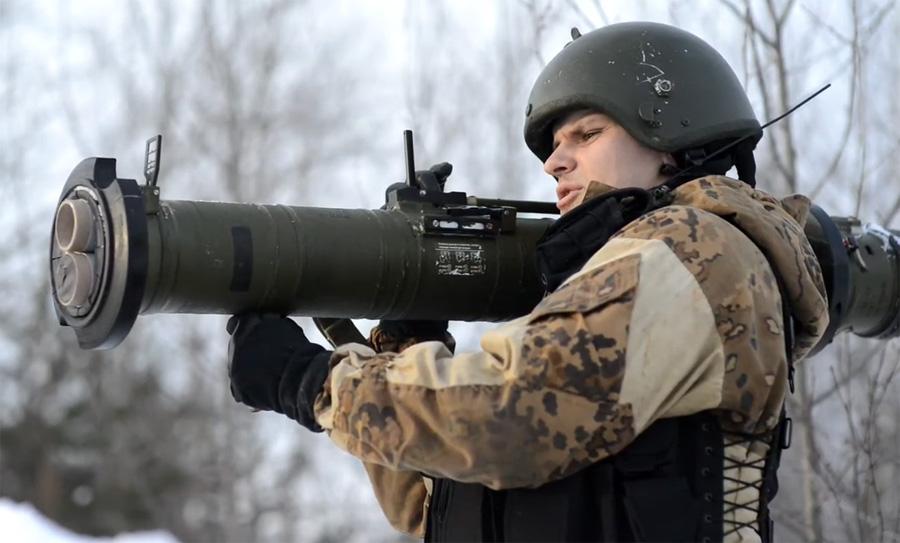 Стрельба из РПГ-28