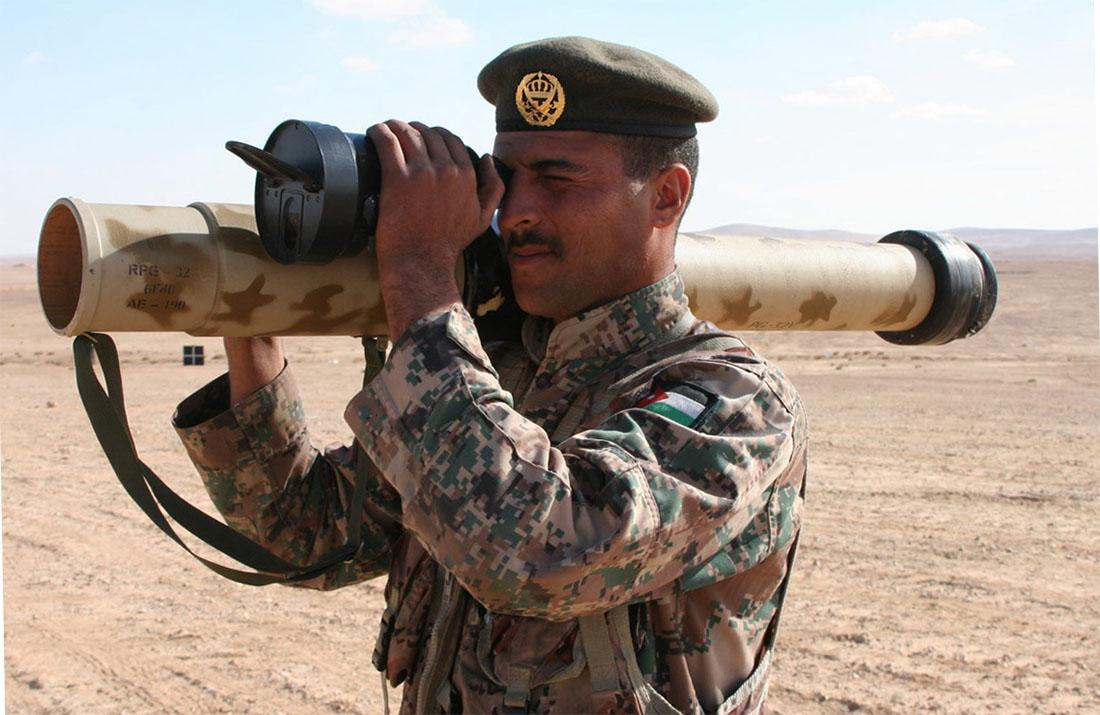 Стрельба из РПГ-32